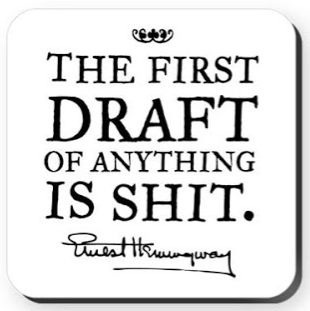 first draft Hemingway quote